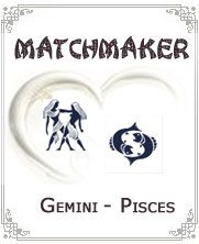 http://piscesandgemini.com/gemini-and-pisces-compatibility:- Gemini people are social while Pisces people are shy and reserved in nature....