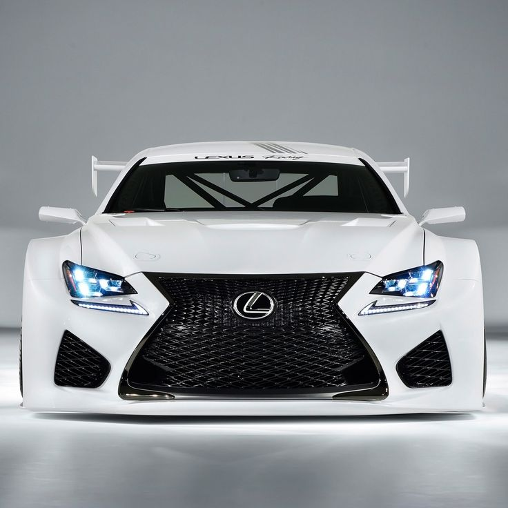Lexus RCF GT3 - Very balanced and interesting design. Use of negative space in all of the black gives the overall shape a more dramatic feel. Angular, but with organic curves on the lower body, this is an example of excellent car design.