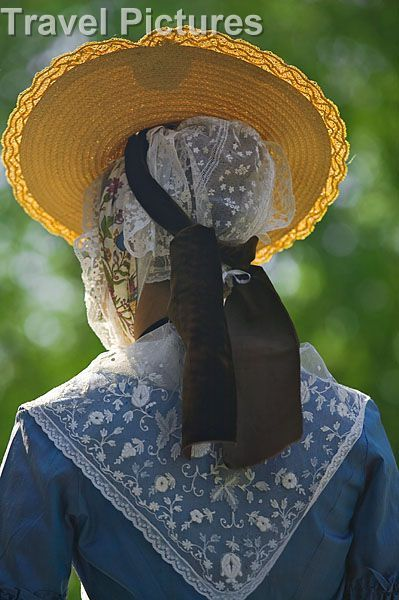 Arles, Camargue, Woman in Traditional Costume #Arles