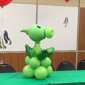 Photo of Balloon Works by Mary R. - Vallejo, CA, United States. Plants vs Zombies Pea Shooter balloon
