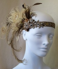1920's-Vintage-Wedding-peackcock-feather-headpiece