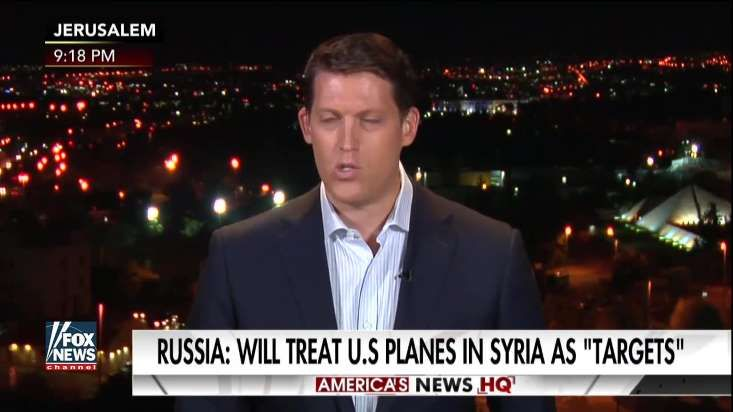 U.S. pilots operating over Syria won't hesitate to defend themselves from Russian threats, a Pentagon spokesperson said Monday in the latest escalation between the two superpowers since a U.S. jet shot down a Syrian aircraft on Sunday.