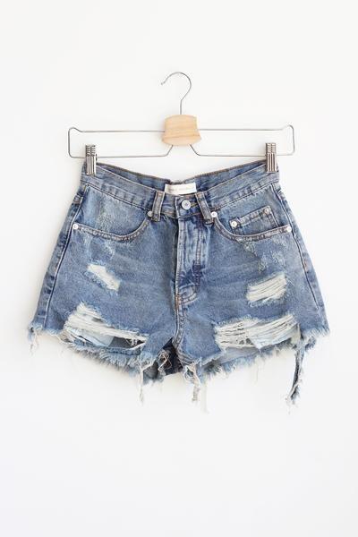 $35 Rebekah Distressed Shorts