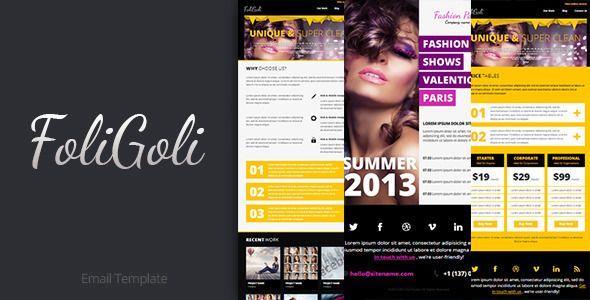 FoliGoli Email Template  #themeforest