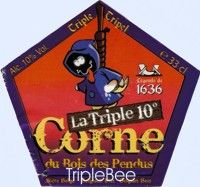 Label van La Corne du Bois des Pendus Triple