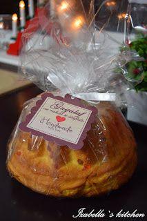 Izabella`s kitchen Guguluf - un cadou perfect, frumos ambalat si eticheta personalizata