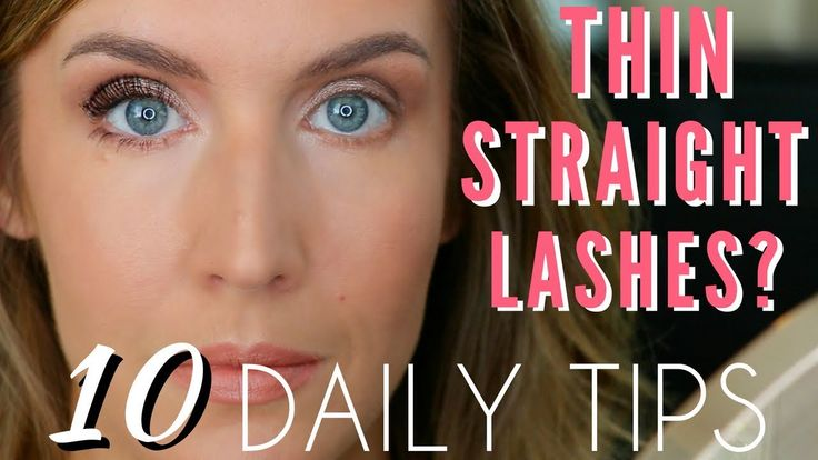 How to make your eyelashes look fuller stay curled all