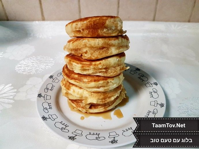 Fluffy Pancakes Recipe | TaamTov