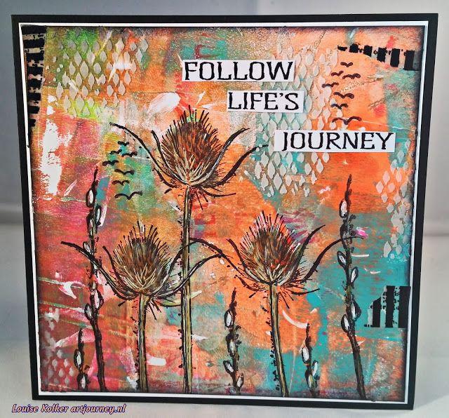 Art Journey Design-team: Art Journey Challenge #73 - Indian Summer
