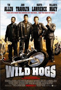 Wild Hogs (2007)-Tim Allen, John Travolta, Martin Lawrence, Ray Liotta, William H Macy  Marisa Tomei