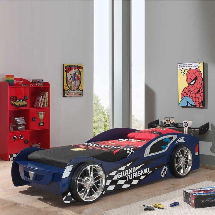 die besten 25 autobett ideen auf pinterest jungen auto schlafzimmer rennwagen bett und. Black Bedroom Furniture Sets. Home Design Ideas
