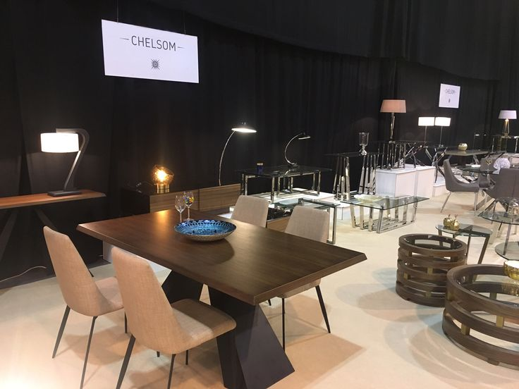 Chelsom Stand at The Minerva Autumn Furniture Show 2016