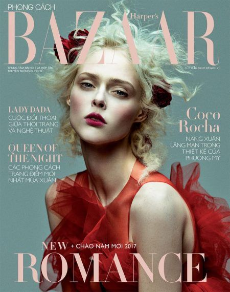 Coco Rocha by Zhang Jingna for Harper's Bazaar Vietnam January 2017