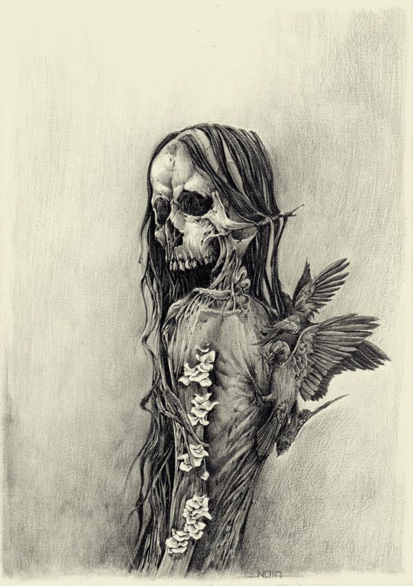 кишка картинки черепов и скелетов карандашом великой отечественной войны