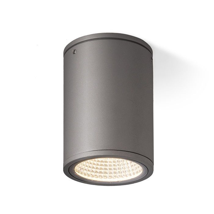 MIZZI CEILING | rendl light studio | Outdoor ceiling light with an integrated 12W LED light source. The bottom cover is of clear glass. #lamp #garden #ceiling #LED