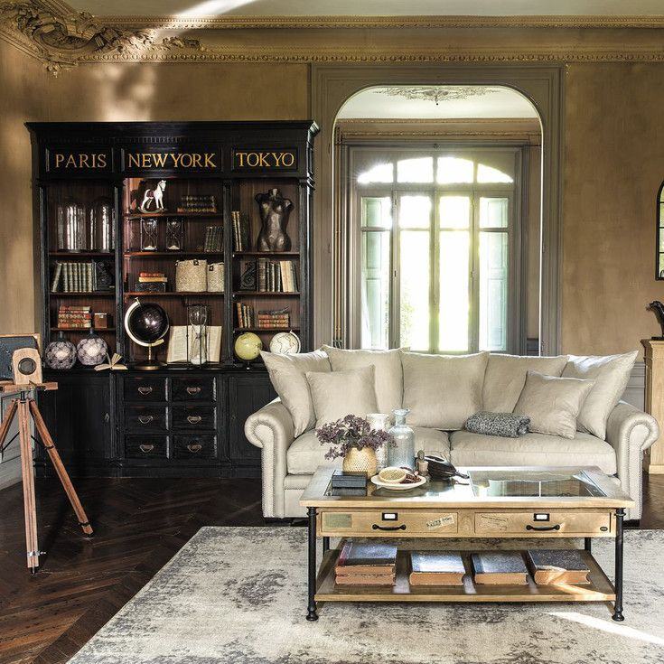 meubles style classique et classique chic maisons du monde salons pinterest chic. Black Bedroom Furniture Sets. Home Design Ideas