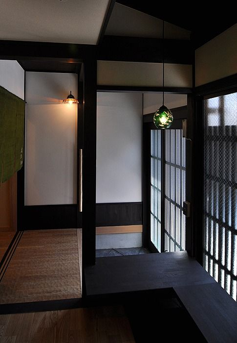 Asymmetry & division   #Japan #Kyoto traditional hotel wakakusa