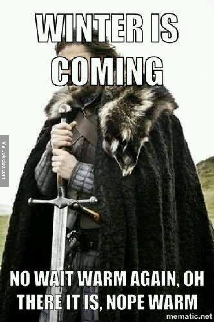 Winter is coming - meme - http://www.jokideo.com/