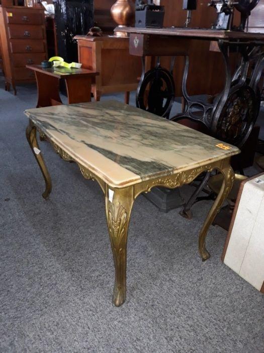 Ludwikowski Stolik Z Marmurowym Blatem Z Francji Home Decor Decor Furniture