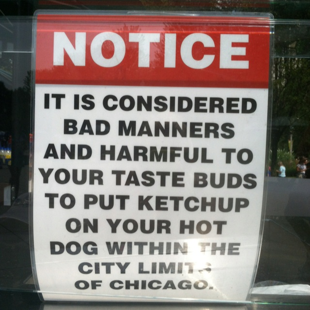 Pic Of Chicago Hot Dog