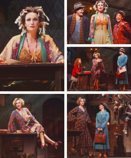 Jane Lynch as Miss Hannigan in Annie. I wasn't actually a huge fan of her as Miss Hannigan. I wanted to love her at it, but it just didn't work for me....