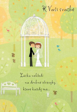 Láska se raduje - přání k svatbě