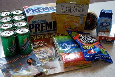make a pregnancy survival kit for a mama-to-be