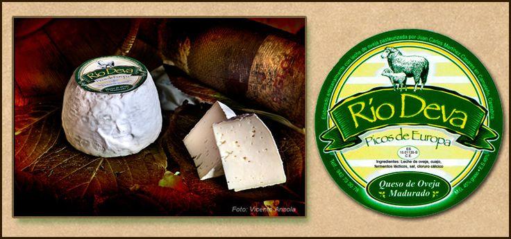 QUESO DE OVEJA MADURADO RIO DEVA  Queso de oveja madurado de los Picos de Europa.  Elaborado artesanalmente con leche de oveja pasteurizada.  Características: Queso autoescurrido, no prensado, de pasta semiblanda. Es un queso tierno, mantecoso, suave y aromático, de 425 grs. de peso aproximado.