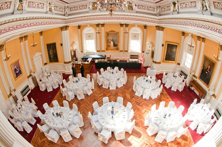 With its magnificent dome ceiling, The Hall can accommodate up to 150 dinner guests. Contact susan.walsh@mcoe.org.uk for details. Image courtesy of Elemental Weddings. #Edinburgh #Weddings