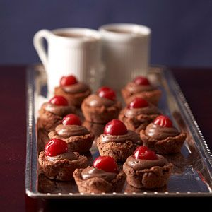 Black Forest Tartlets ~ 194 cals, 22g carbs each ~ CAREFUL! | Diabetic Living Online