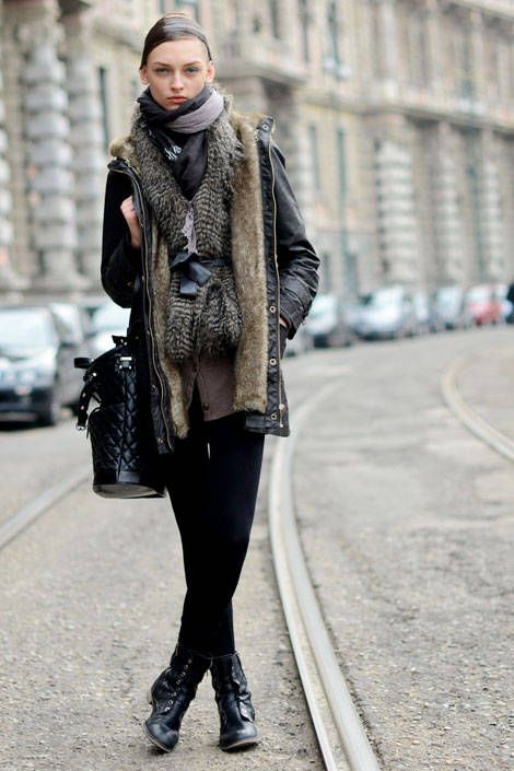 Layered Up 02 - Best 2011 Winter Street Style - Discover More Fashion Trends - Elle