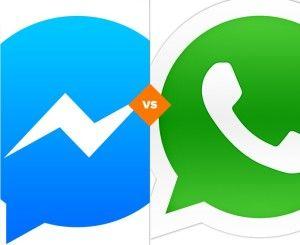 ¿Facebook Messenger en PC o Whatsapp Web?