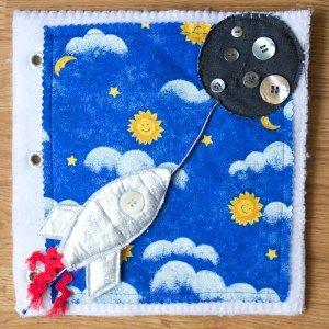 Activity Quiet Book Inspiration Rocket Outer Space   Five Marigolds
