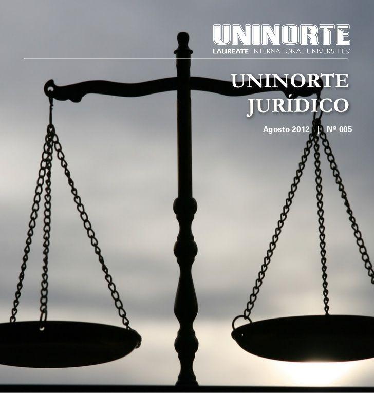 Edição número 5 do Informativo Jurídico, do curso de Direito do Centro Universitário do Norte.