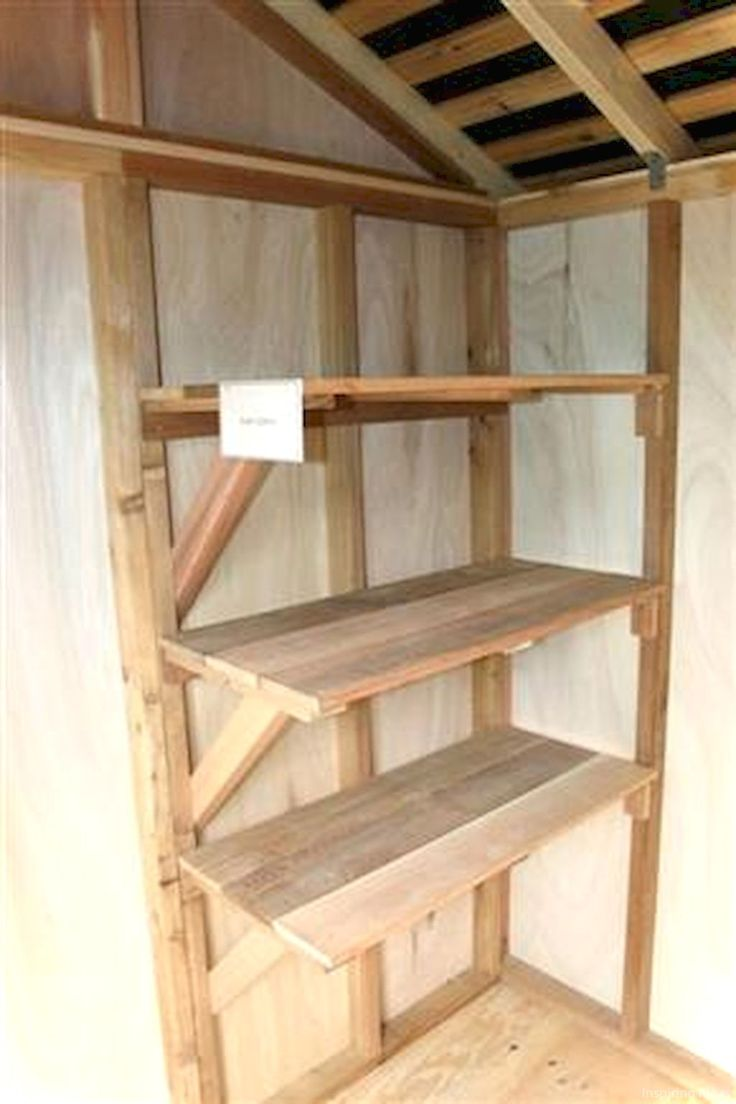 55 Nice Garden Shed Storage Ideas on a Budget | Shed ...