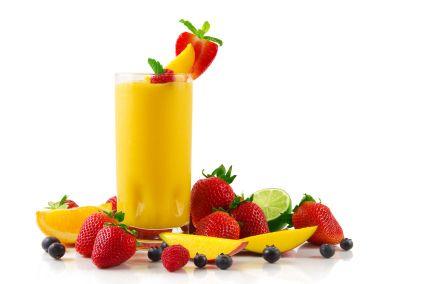 mango smoothie yum