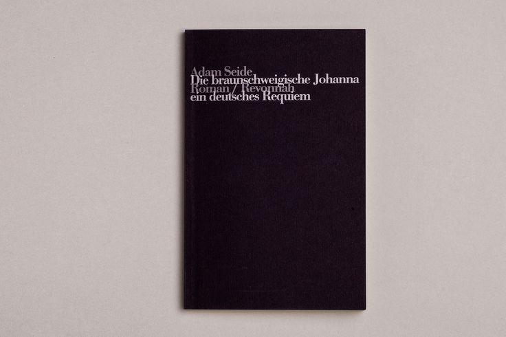 AdamSeide – Die braunschweigische Johanna. Ein deutsches Requiem. Buch. Broschiert. Deutsch. 184 Seiten. 250 x 150 mm. Mai 2001. ISBN 978-3-934818-25-5.Preis 15,00 Euro. Die 17-jährige Johanna aus Braunschweig wird 1944 zum Tode verurteilt. Seide lässt sie erzählen – und ihren Richter. Ein deutsches Requiem.