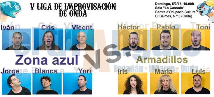 http://www.eltriangulo.es/contenidos/?p=67222 El triángulo » El 5º partido de la V Liga de Improvisación teatral de Onda se dedica especialmente a la mujer