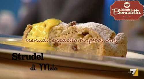 Strudel di mele (pasta frolla) - Benedetta Parodi