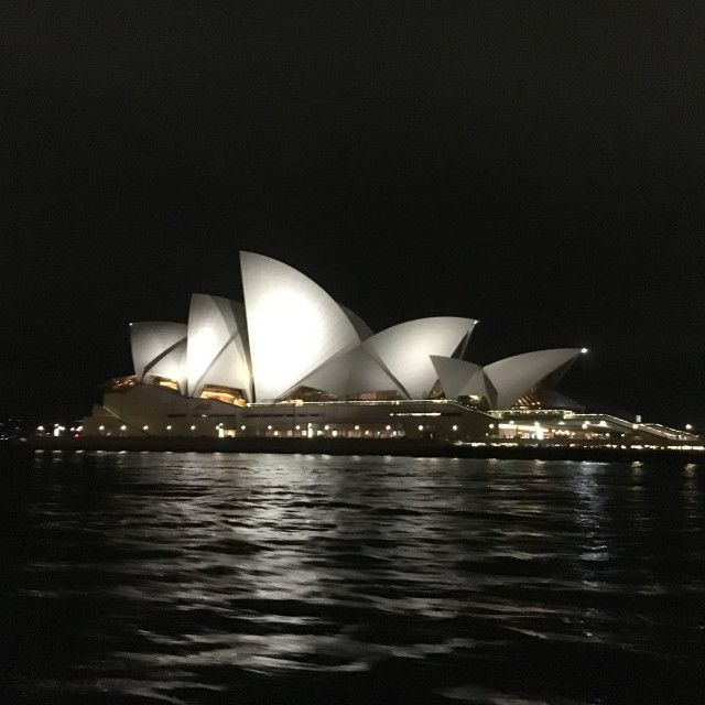 """Sydney Opera House at night"" by Cath - £5"