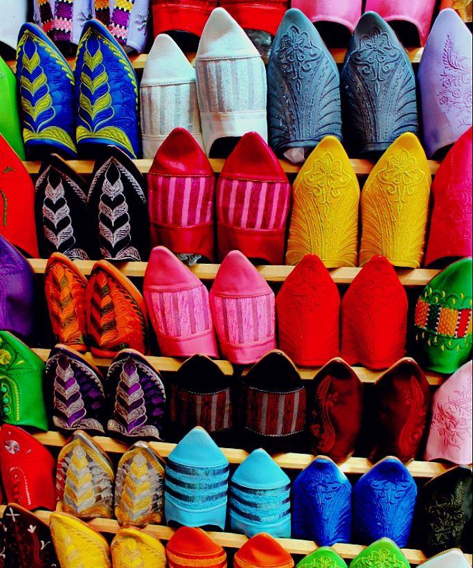 Marokaanse schoentjes : belra