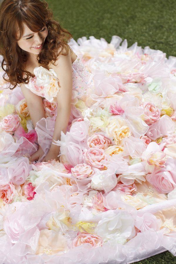 アンデルセン ピンク THE HANYドレス 岐阜・名古屋の貸衣裳・ドレスレンタル ウェディングプラザ二幸 - http://www.weddingplazaniko.com/lineup/dress/the_hany1372.html