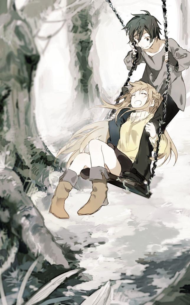 Yuuki Asuna & Kirito,Kirigaya Kazuto - Sword Art Online,Anime