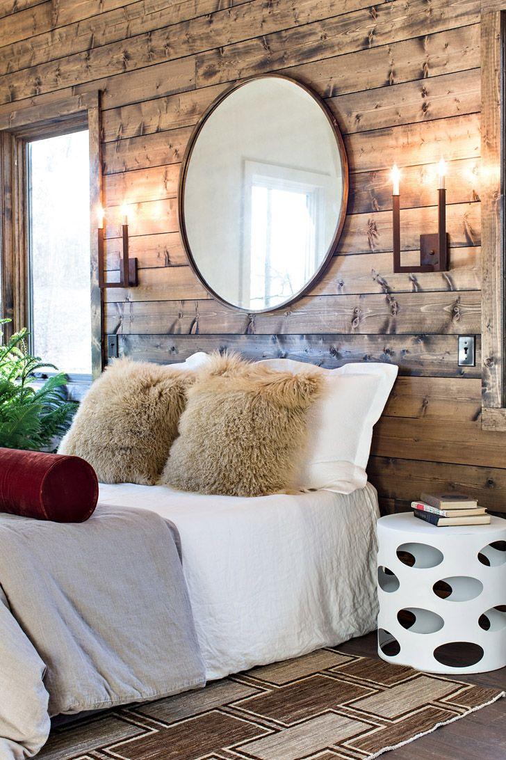 Современный деревянный дом на берегу озера | Пуфик - блог о дизайне интерьера