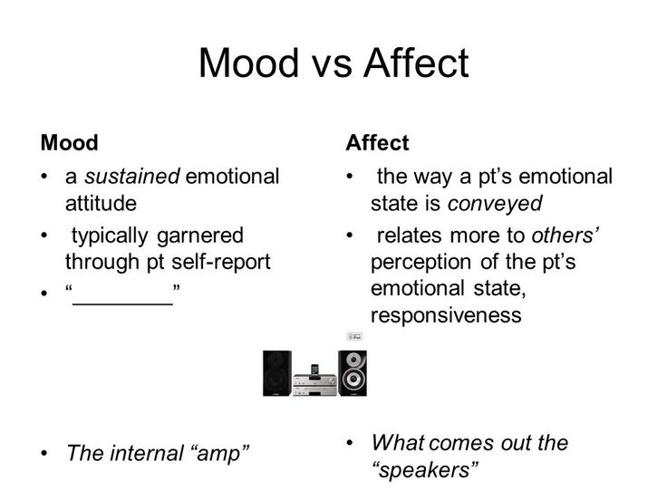 Affekt Emotion