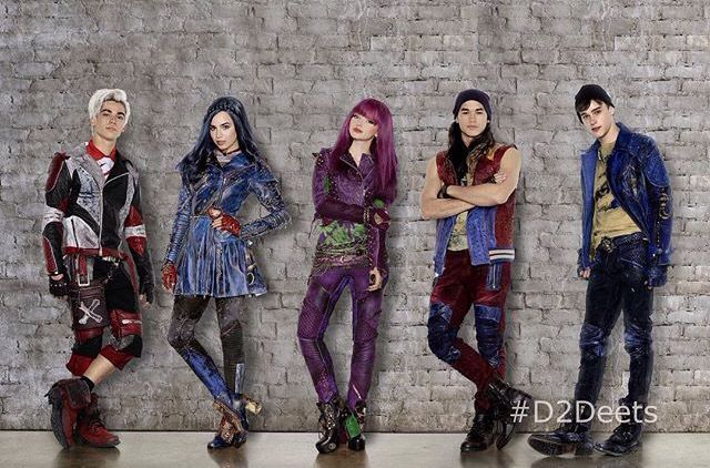 The 1st Picture out of DESCENDANTS 2!! Is Ben becoming a bad guy? #descendants…