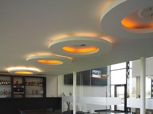 Luminária semi-encastrada com luz direta USL 900 DISK Coleção Out by FLOS