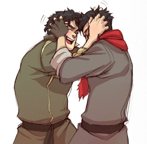 Avatar Aang With Hair: 42 Best Mako X Bolin Images On Pinterest