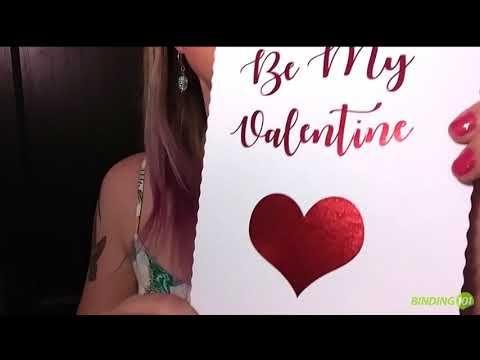 Valentine's Day Foil ♡ Reactive Toner Adhesive Foil - YouTube