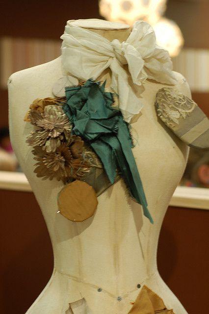Vintage mannequin or dress form